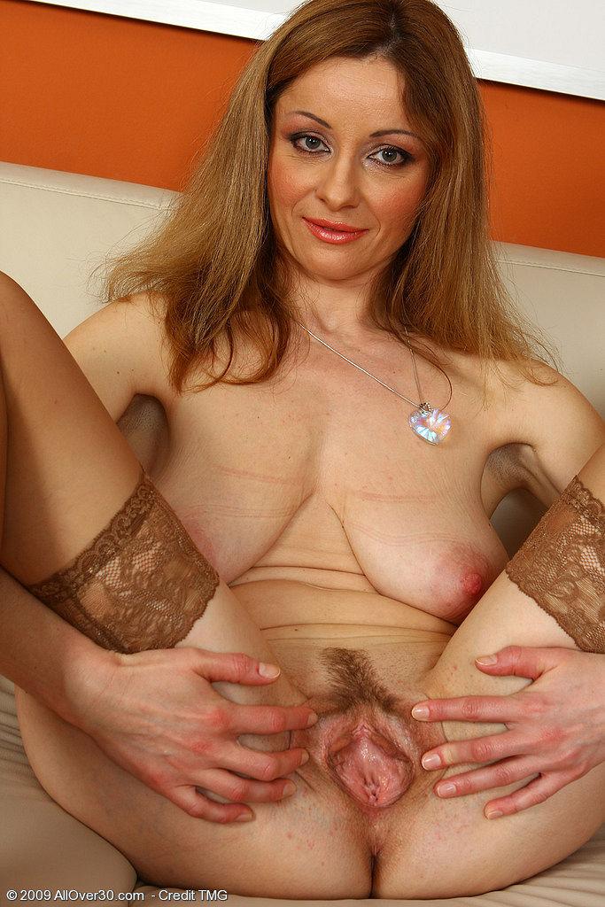Hot mature hairy blonde valerie
