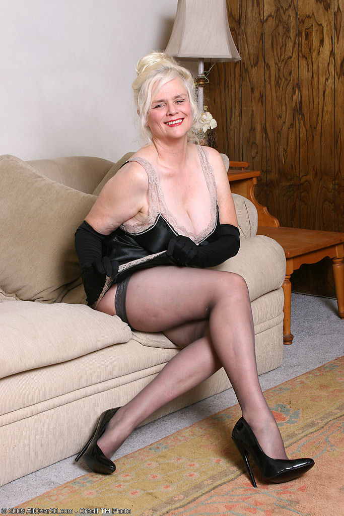 in movies Mature pantyhose